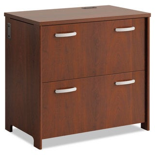 Office Connect by Bush Furniture Envoy Series Two-Drawer Hansen Cherry Lateral File