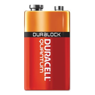 Duracell Quantum 9V Alkaline Batteries with Duralock Power Preserve Technology (Pack of 12 Batteries)