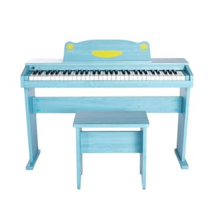 Artesia FUN-1 Children's 61-Key Digital Piano + Bench (Blue)
