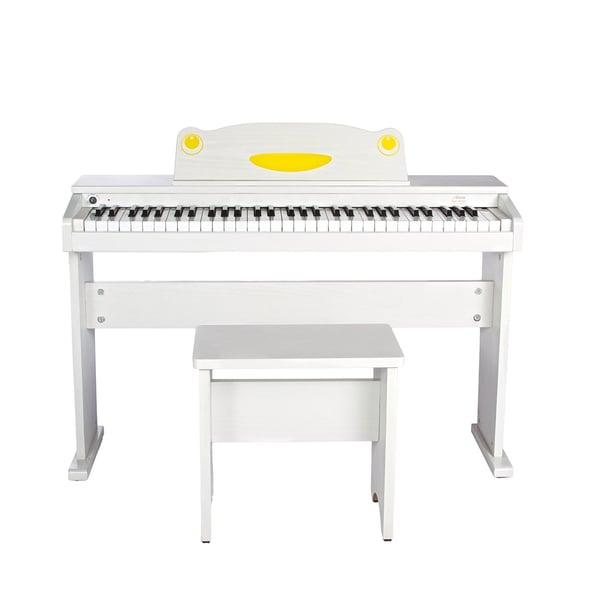 Artesia FUN-1 Children's 61-Key Digital Piano + Bench (White)