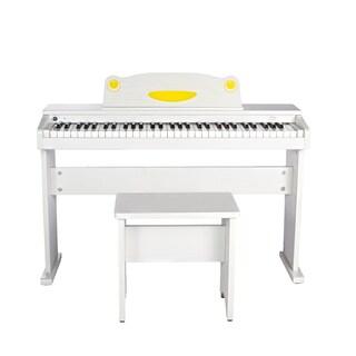 Artesia FUN-1 Children?s 61-Key Digital Piano + Bench (White)