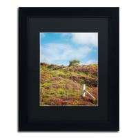 Philippe Sainte-Laudy 'Moorland's Color' Black Framed Canvas Wall Art