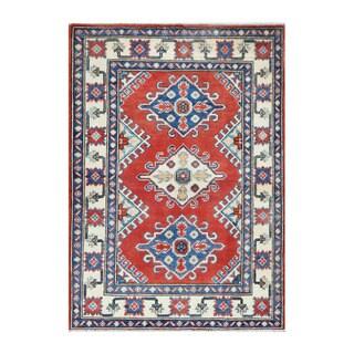 Herat Oriental Afghan Hand-knotted Tribal Vegetable Dye Kazak Wool Rug (2'9 x 4')