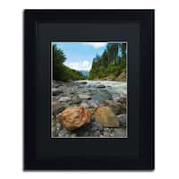 Philippe Sainte-Laudy 'Isolated' Black Framed Canvas Wall Art