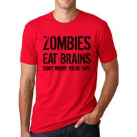 Men's Zombies Eat Brains Cotton T-shirt