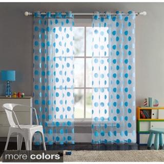 VCNY Sophie Dot Grommet Curtain Panel