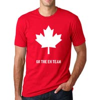 Men's On The Eh Team Canadian Cotton T-shirt