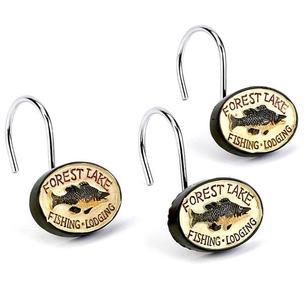 Rather be fishing shower hooks 17427609 overstock com shopping