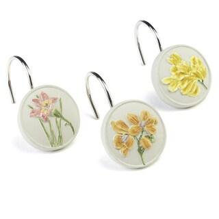 Alana Decorative Floral Shower Hooks