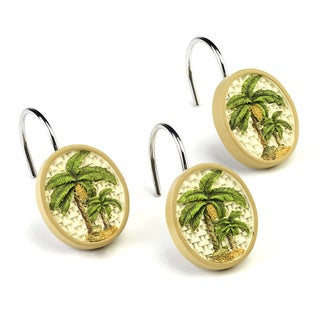Link to Colony Resin Palm Tree Shower Hooks Similar Items in Bathroom Accessory Sets