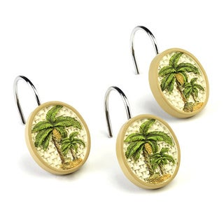 Colony Resin Palm Tree Shower Hooks