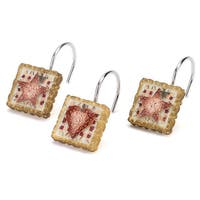 Resin Hearts & Stars Shower Hooks