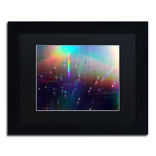 Beata Czyzowska Young 'Rainbow Logistics V' Framed Canvas Wall Art