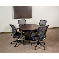 Shop Boss Inch Round Conference Table Free Shipping Today - Round conference table for 4