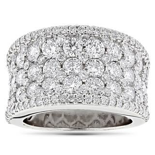 Luxurman 14k Gold 3 7/8ct TDW Pave Diamond Iced Out Ring|https://ak1.ostkcdn.com/images/products/10316150/P17427834.jpg?impolicy=medium