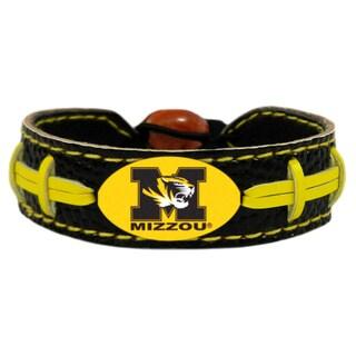 Missouri Tigers Team Color Football Bracelet