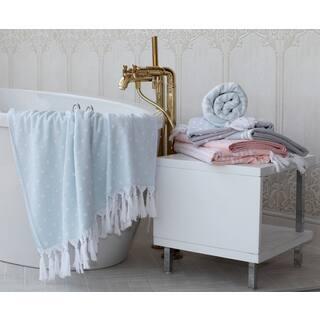 Sweet Kids Dots or Stripes Turkish Cotton Pestemal Bath Towel