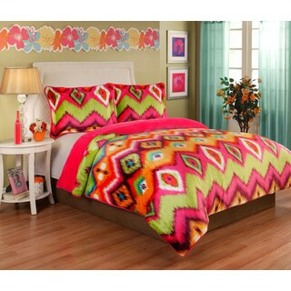Gypsy Velvet Plush 3-piece Comforter Set