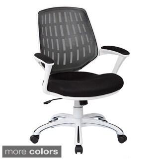 Calvin White Frame Chair