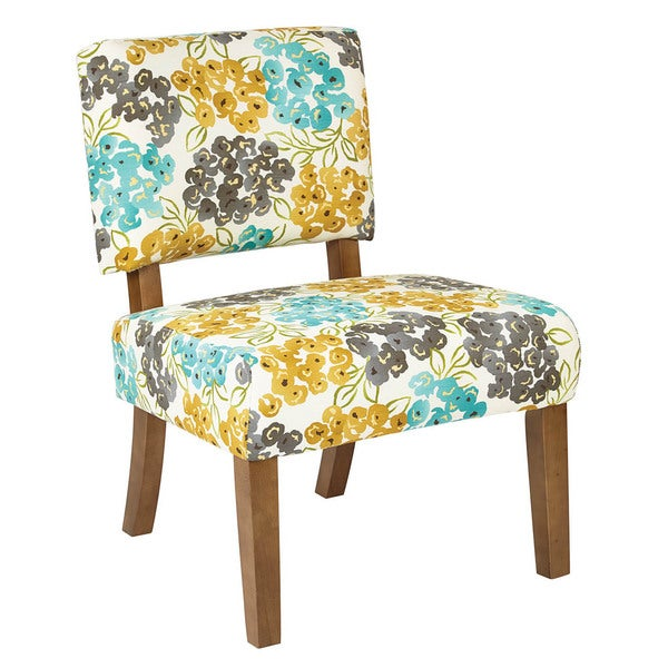 Shop Jasmine Accent Chair With Solid Wood Legs Free