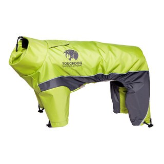 Touchdog Quantum-ice Full-bodied Adjustable and 3m Reflective Dog Jacket with Blackshark Technology