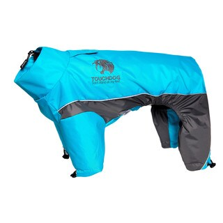 Touchdog Quantum-ice Adjustable Full-bodied 3m Reflective Dog Jacket with Blackshark Technology