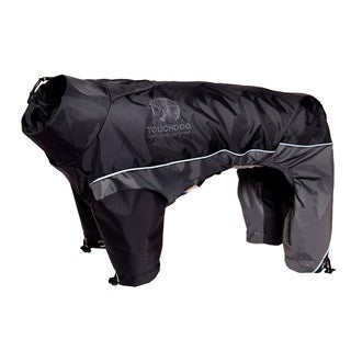 Touchdog Quantum-ice Full-bodied 3m Reflective and Adjustable Dog Jacket with Blackshark Technology