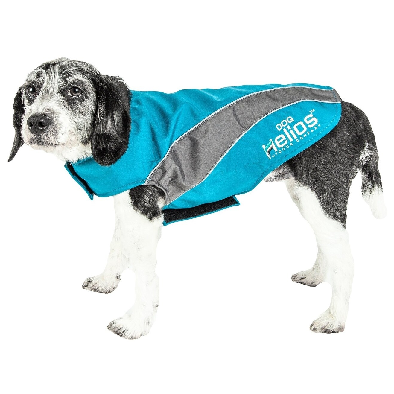 Helios Octane Reflective Dog Softshell Neoprene Satin Jac...
