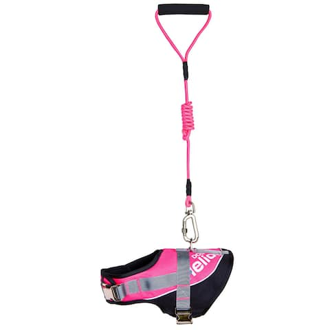 Helios Bark-mudder Adjustable Easy Tension 3m Reflective Endurance Dog Leash and Harness