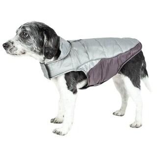 Helios Hurricane-waded Reflective Plush Dog Coat with Blackshark Technology