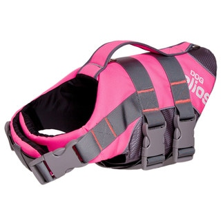 Helios Splash-explore Outer Performance 3m Reflective Buoyant Adjustable Dog Harness and Life Jacket
