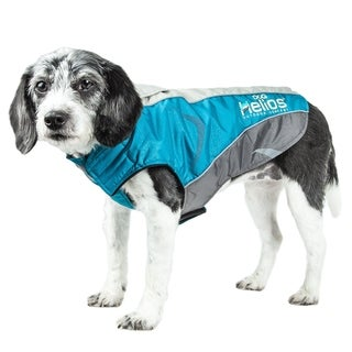 Helios Altitude-mountaineer Wrap-hook-and-loop Waterproof Dog Coat with Blackshark Technology