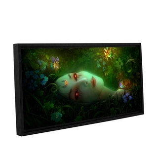 ArtWall Philip Straub 'Aadyasha' Gallery-wrapped Floater-framed Canvas