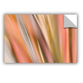 ArtAppealz Cora Niele 'Abstract Barcode' Removable Wall Art