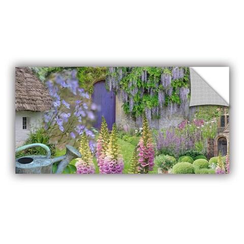 ArtAppealz Cora Niele 'Cottage Garden' Removable Wall Art