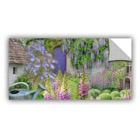 ArtAppealz Cora Niele 'Cottage Garden' Removable Wall Art