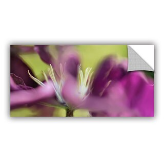 ArtAppealz Cora Niele 'Clematis Panorama' Removable Wall Art