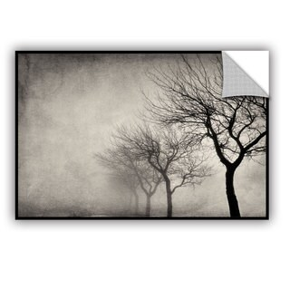 ArtAppealz Cora Niele 'Early Morning Sepia' Removable Wall Art
