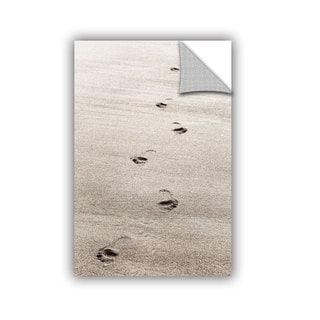 ArtAppealz Cora Niele 'Footprint' Removable Wall Art