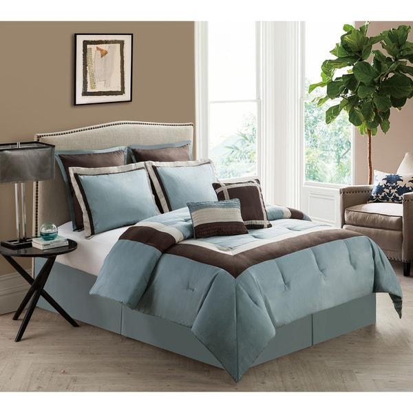 VCNY Hotelier 8-piece Comforter Set