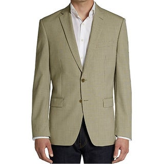 Michael Kors Men's Tan Textured Sport Coat