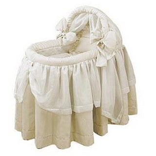 Baby Doll Lime Wonders Bassinet Set