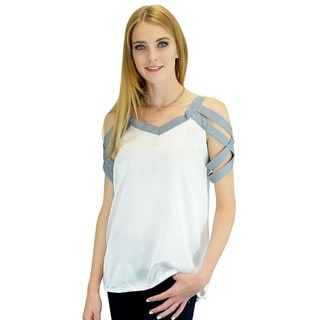 Relished Women's Grey Venezia Top