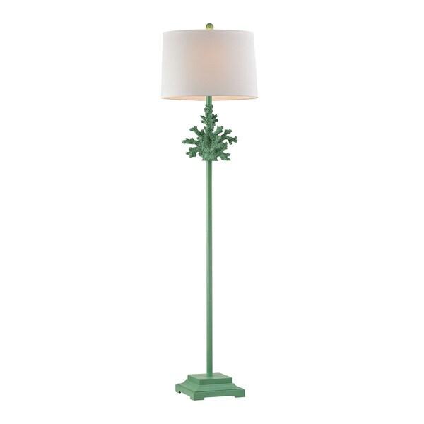 Dimond White Coral Floor Lamp