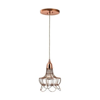 Dimond Copper Wire Hanging Pendant Light