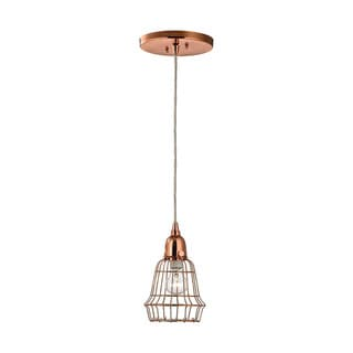 Dimond Copper Marble LED Hanging Hanging Lamp