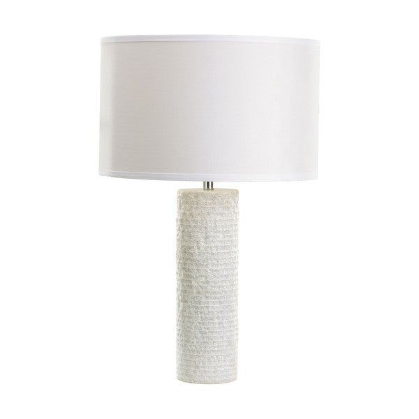 Dimond Rough Round Marble Table Lamp