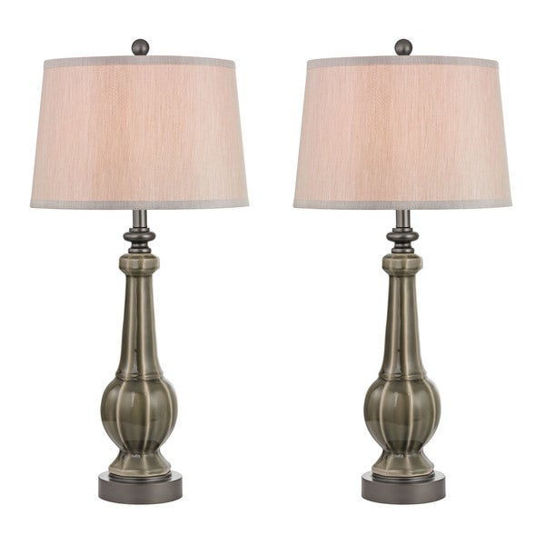 Dimond Sailsbury s Georgia Grey Glaze - Set of 2 Table Lamp