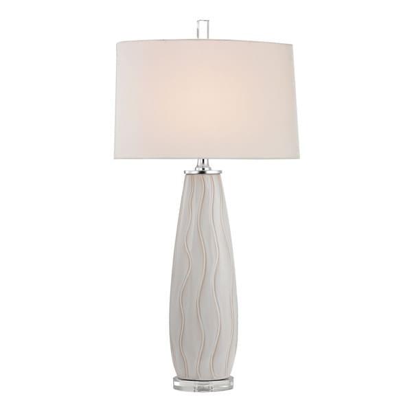 Dimond Andover Ceramic Washington White Table Lamp