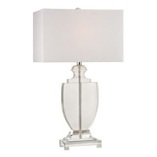 Dimond Avonmead Solid Clear Crystal Table Lamp